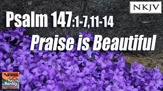 "Psalm 147:1-7, 11-14 Song ""Praise is Beautiful"" (Esther Mui)"