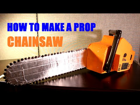 How To Make A Prop Chainsaw Youtube