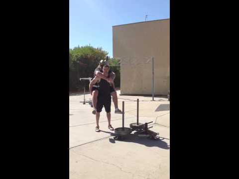 Mitch Ryan Ninja Warrior Video