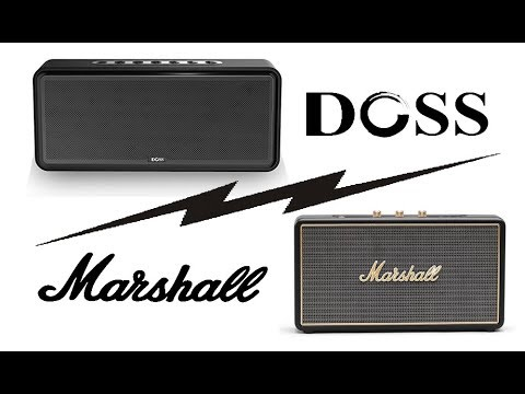 enceinte doss soundbox xl vs marshall stockwell test audio youtube. Black Bedroom Furniture Sets. Home Design Ideas