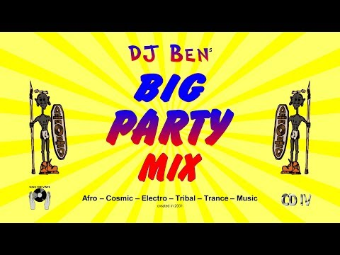 DJ Ben - Afro Cosmic Mix-CD No. 4 - Big Party Mix - created in 2001