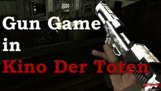"Kino Der Toten Custom Zombies World at War Remake ""Gun Game"" Solo by TheRelaxingEnd"