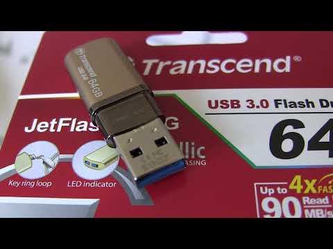 Онлайн Трейд.РУ USB флешка Transcend JetFlash 820G 64Gb USB 3.0 Код товара: 142539
