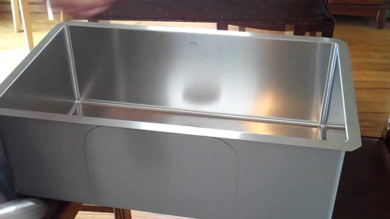 Kraus Undermount Stainless Sink