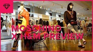MOSCHINO [TV] H&M Collection Preview   nitro:licious