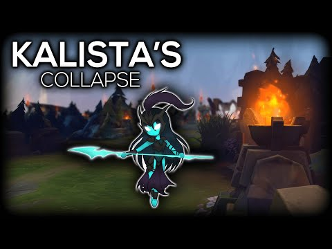 How Kalista Fell From Being The Best To The Worst Champion In League of Legends