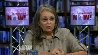 Roseanne Barr on Democracy Now! About Her Career As A Working-Class Domestic Goddess. 2 of 4