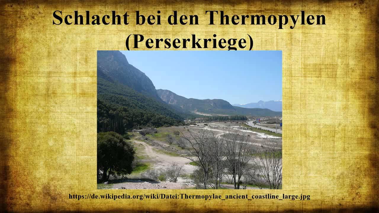 Schlacht Bei Den Thermopylen