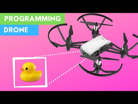 Easy Programming of  Tello Drone   Python OpenCV Object Tracking