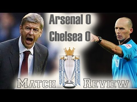 Wenger Out...classed by Mourinho! Arsenal vs Chelsea 0-0 2013-14