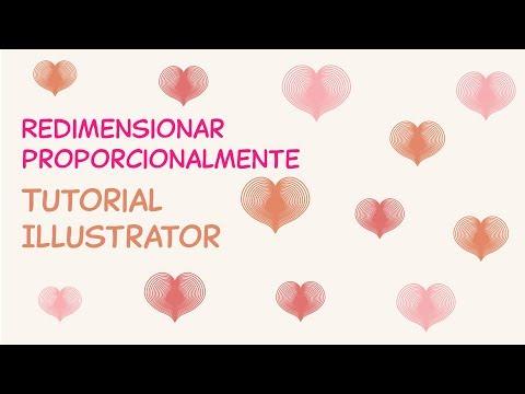 Como Redimensionar Proporcionalmente | Tutorial Illustrator | Design Gráfico thumbnail