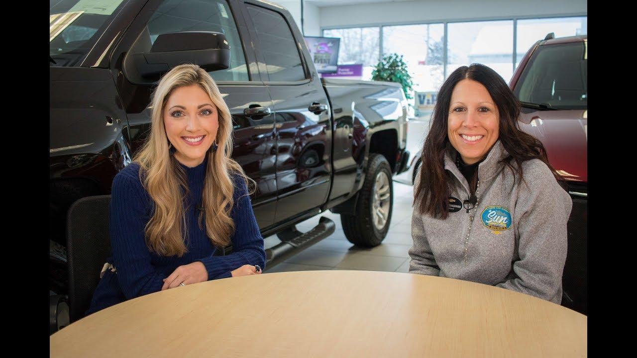 Megan Khashman Interview At Sun Chevrolet Route 5 Chittenango Youtube