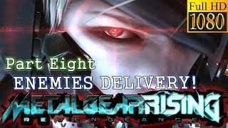 ENEMIES NOW COMES IN BOXES! | Ep8 | Metal Gear Rising Revengeance PC Edition | 1080p HD Max Settings