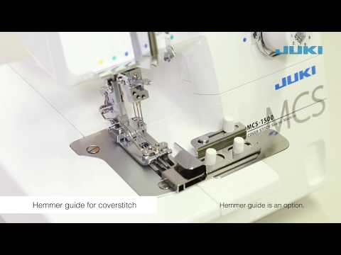 JUKI MCS-1500: Practical Sewing Coverstitch