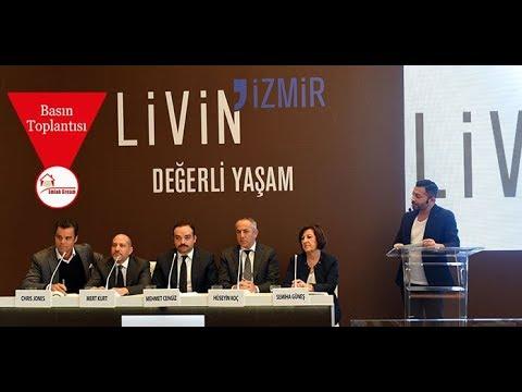 Cengiz İnşaat Livin İzmir Projesi Basın Toplantısı