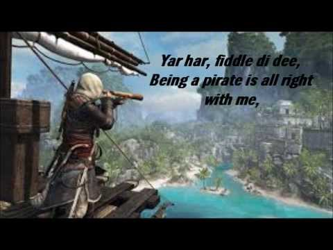 assassin's creed - Alestorm - You a are pirate lyrics