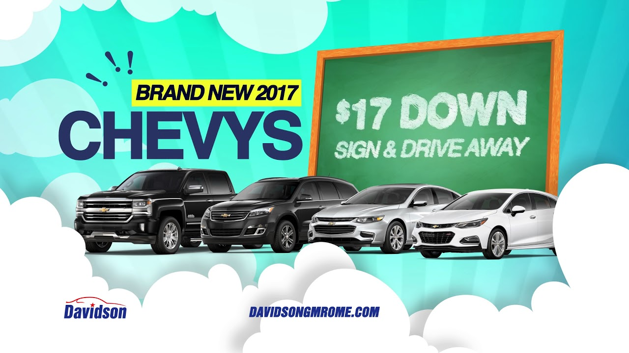 Get Into Your New 2017 Chevy Cruze At Davidson Rome