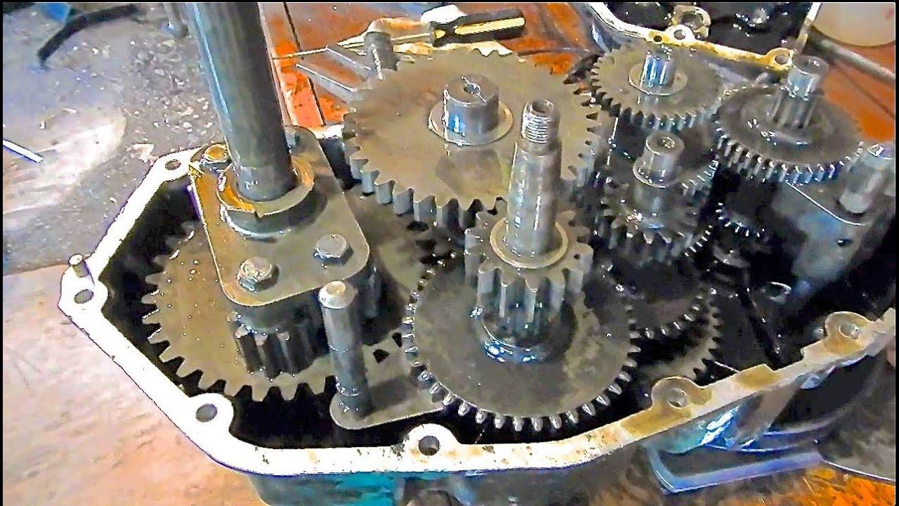 633A38 Transaxle Differental Lock - YouTube