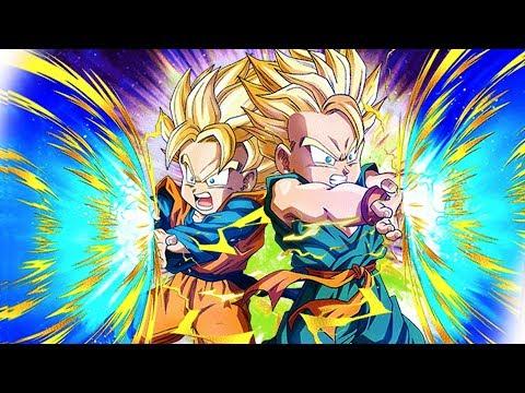 AGL & PHY TAG TEAM! Goten & Trunks HYBRID SAIYAN CATEGORY TEAM | Dragon Ball Z Dokkan Battle