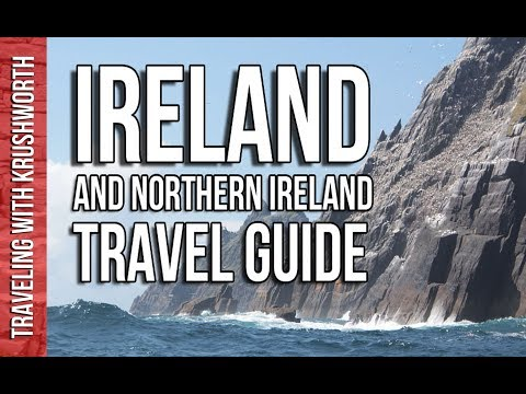 Top things to do in Ireland/Northern Ireland (Dublin, Galway) travel guide video