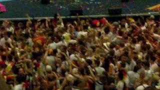 How a great football fan-party look like Deutschland - Argentinien 40 WM 2010 Kln