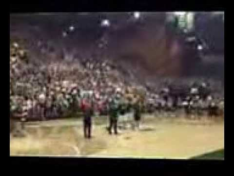 Colorado State University Student Wins Tuition for One Year by Sinking Half Court Shot   YouTube