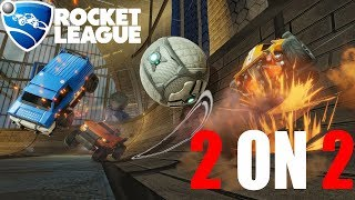 First Game 2 vs 2 Pro - Rocket League | Gameplay | # 137