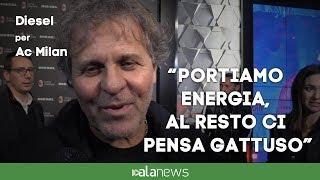 """Renzo Rosso veste il Milan: """"Portiamo energia, al resto ci pensa Gattuso"""""""