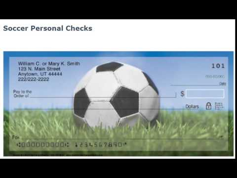 Exciting Soccer Personal Checks!