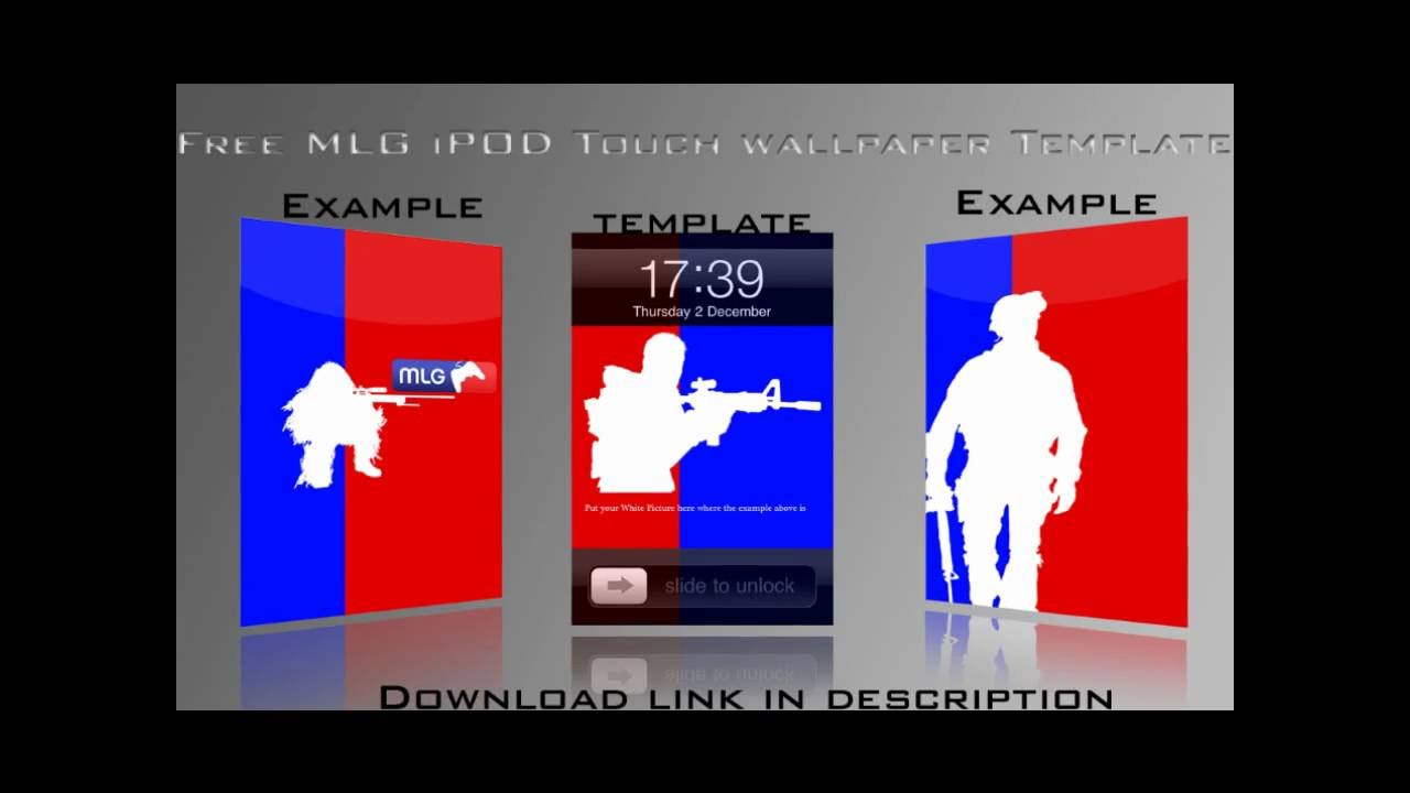 iPod Touch MLG Wallpaper Template (Free