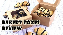 Where to buy bakery boxes? || Review by Gretchen's Bakery