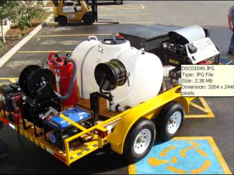Start A Pressure Washing Business W Full Environmental Trailer System You