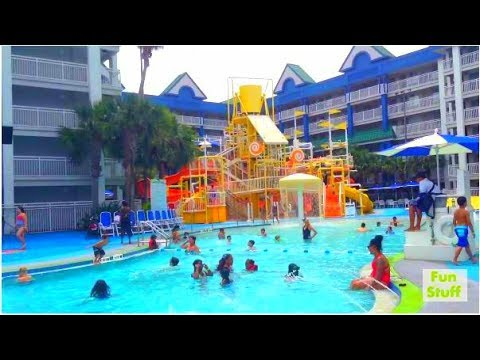 HOLIDAY INN HOTEL ROOM REVIEW and WATERPARK RESORT in Orlando Florida