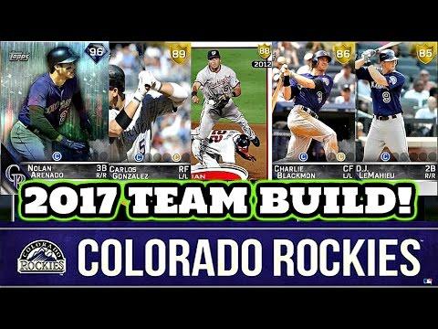 BIZARRE ENDING? 2017 COLORADO ROCKIES TEAM BUILD! - MLB The Show 16 Diamond Dynasty #181