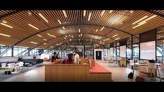 Learning Center sur le campus de Bourges