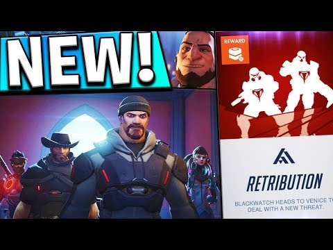OVERWATCH RETRIBUTION EVENT! l NEW BLACKWATCH PVE EVENT!