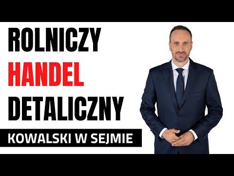 Janusz Kowalski wspiera rolniczy handel detaliczny