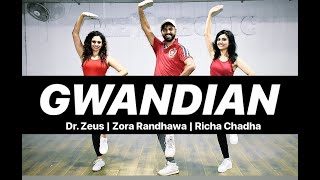 Dr. Zeus GWANDIAN Bhangra Dance Workout | Bhangra Dance Choreography | FITNESS DANCE With RAHUL
