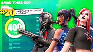 How We Placed 20th Of Europe And 1st Of Spain In Amar Trios Cup Finals (ft. Apr0 \u0026 Ch0p) | Nikito