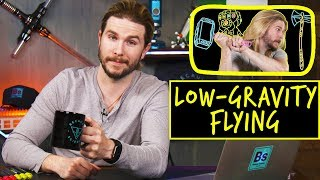 Low Gravity Flying | Because Science Footnotes