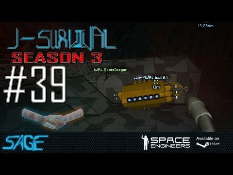 Space Engineers, Scot's Rubbish Work Day (Joint Survival S3, Ep #39)