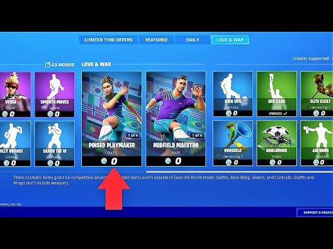 *GLITCH* How To Get SOCCER SKINS For FREE In Fortnite 2020!