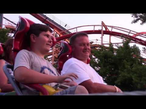 Connor's First Time on Top Thrill Dragster