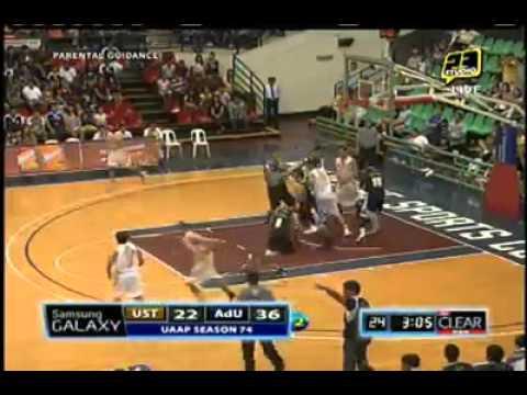 UAAP Season 74 UST v.s Adamson