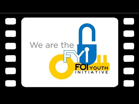 We are the FOI Youth Initiative.