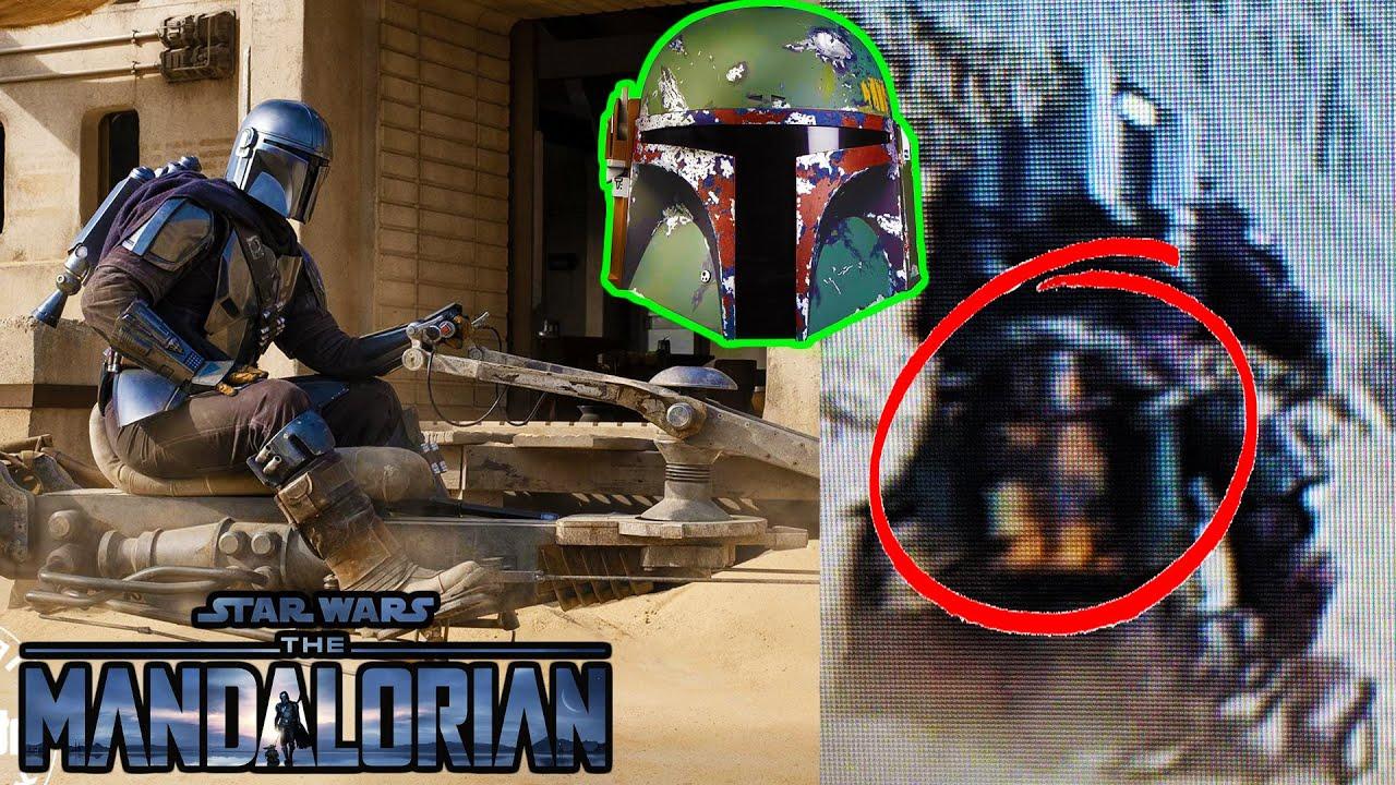 Mando Has Boba Fett S Helmet And Jetpack In The Mandalorian Season 2 Trailer Star Wars Theory Youtube
