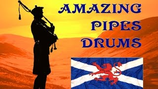Scottish Music Bagpipes~My Home~The Lone Piper.