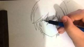 Speed Art:Otosaka Yu/Yu Otosaka (Charlotte)