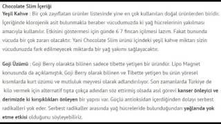 Chocolate Slim Kullanıcı Yorumları ve Detaylı İnceleme