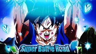 1000 DAYS LR GOKU vs SUPER BATTLE ROAD! Dragon Ball Z Dokkan Battle